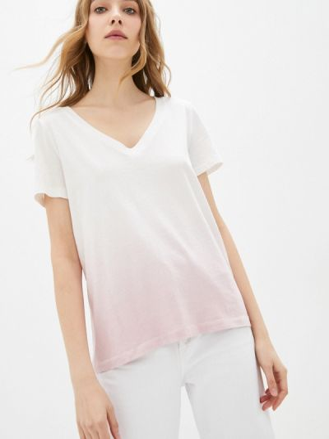 Белая футболка с короткими рукавами Gap