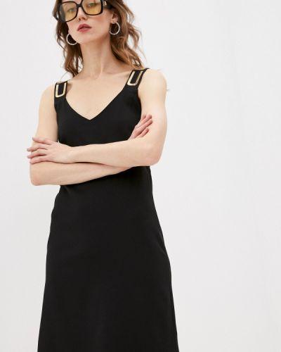 Повседневное черное платье Custo Barcelona