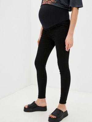 Черные зауженные джинсы Gap Maternity