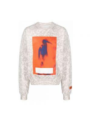 Sweter - beżowy Heron Preston
