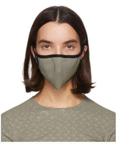 Текстильная белая маска для лица стрейч Marine Serre