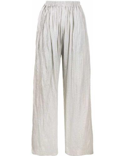 С завышенной талией зеленые брюки с карманами Bambah