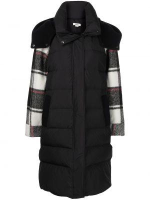Пальто с капюшоном - черное Jason Wu