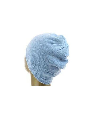 Голубая кашемировая шапка Not Shy