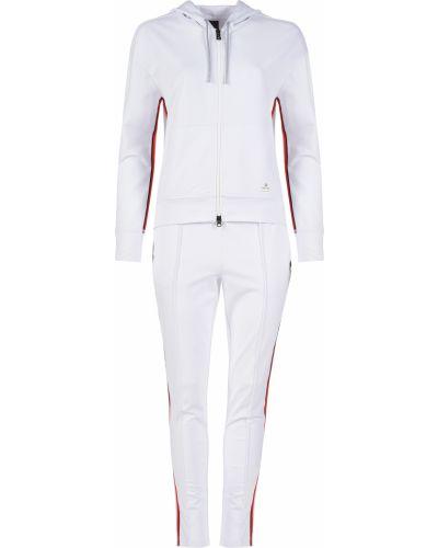 Костюмный белый спортивный костюм Bogner