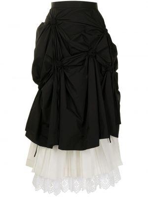 Długa spódnica koronkowa - biała Enfold