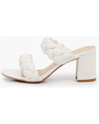 Кожаные сабо - белые Diora.rim
