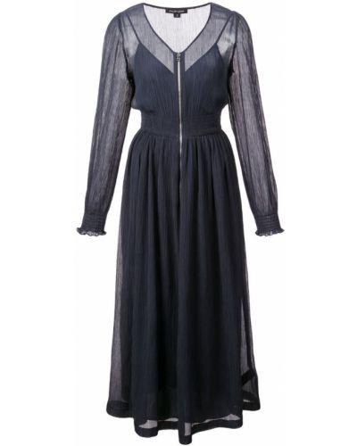Расклешенное платье миди на молнии Jill Stuart