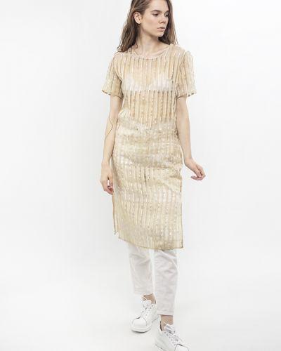 Платье летнее золотое Dasti