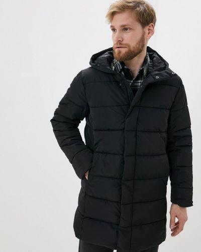 Черная утепленная куртка Colin's