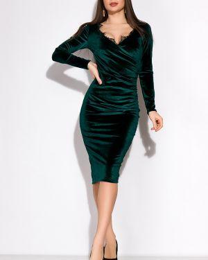 Платье с поясом ажурное на торжество Time Of Style