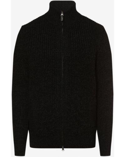 Czarny sweter dzianinowy Superdry
