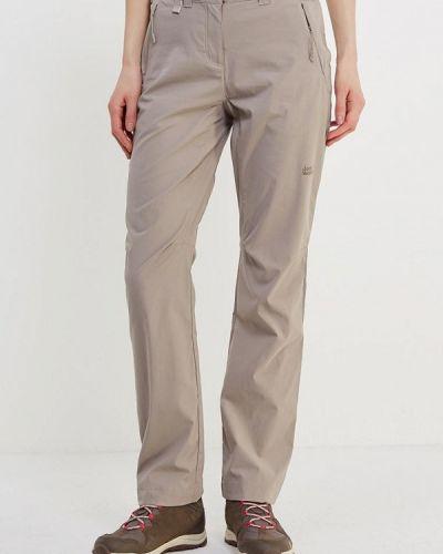 Бежевые брюки Jack Wolfskin