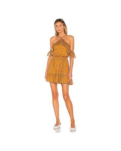Платье с поясом на бретелях на резинке Tularosa