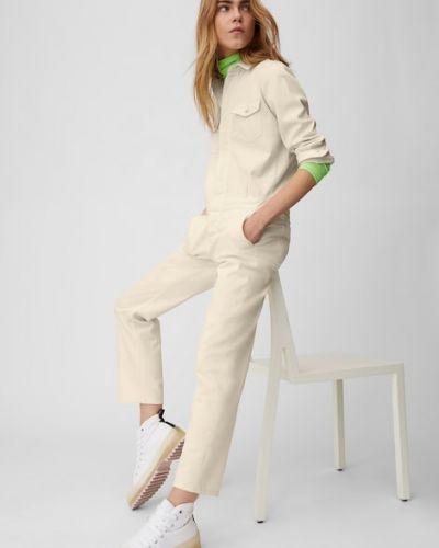 Biały kombinezon bawełniany Marc O Polo