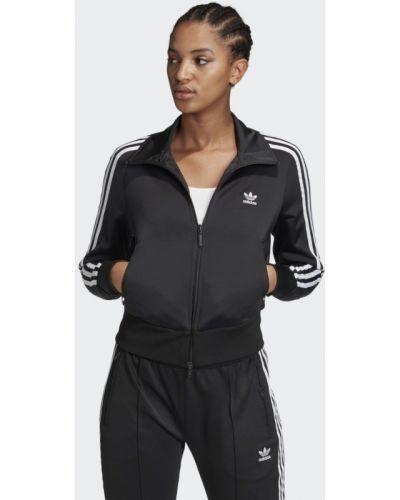 Модная черная олимпийка Adidas
