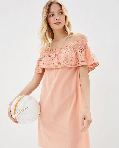 Оранжевое платье осеннее Dorothy Perkins