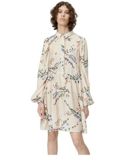Beżowa sukienka Munthe