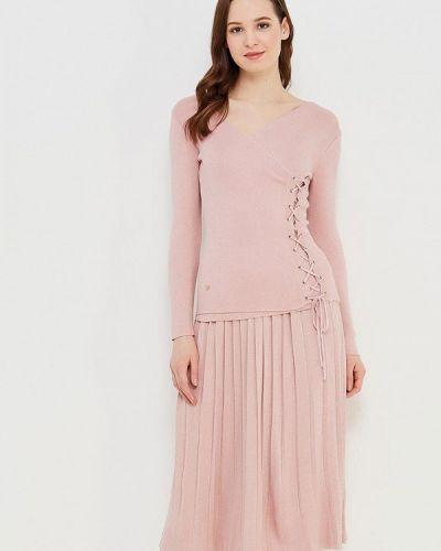 Юбочный костюм розовый итальянский Mazal