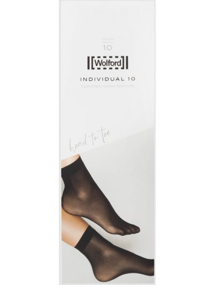 Бежевые носки Wolford