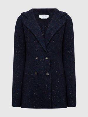 Синий пиджак двубортный Gabriela Hearst