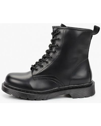 Черные ботинки Martin Pescatore