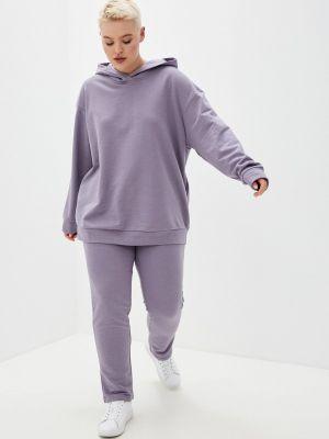 Фиолетовый спортивный спортивный костюм Irma Dressy