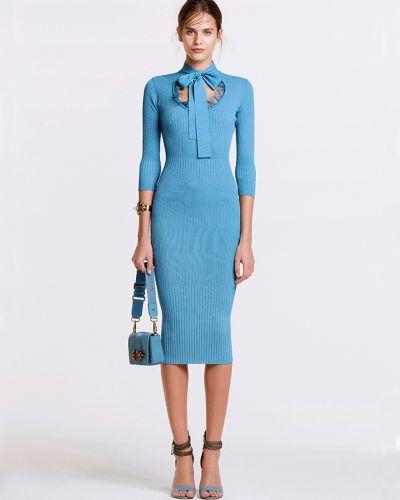 Платье из вискозы весеннее Elisabetta Franchi