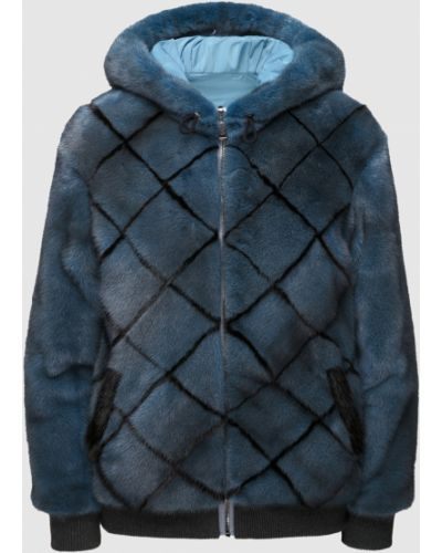 Куртка двусторонняя - бирюзовая Florence Mode