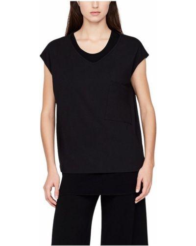 Czarny t-shirt Sarah Pacini