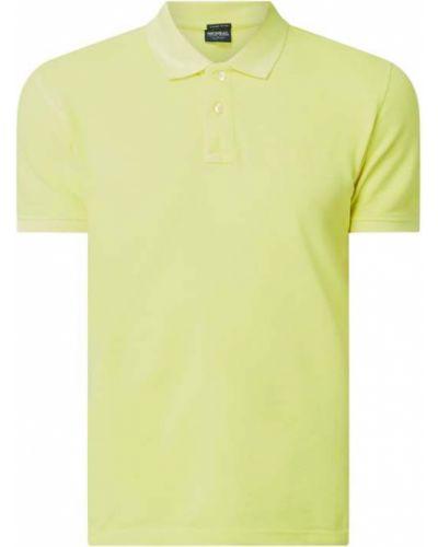 T-shirt bawełniana - żółta Mcneal