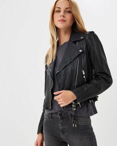 Черная куртка Diesel