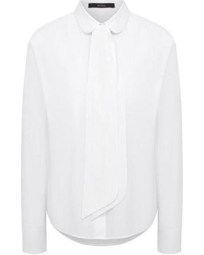 Хлопковая рубашка - белая Windsor