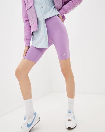 Фиолетовые велосипедки Nike