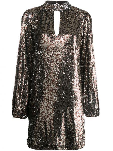 Платье макси с пайетками на пуговицах Milly