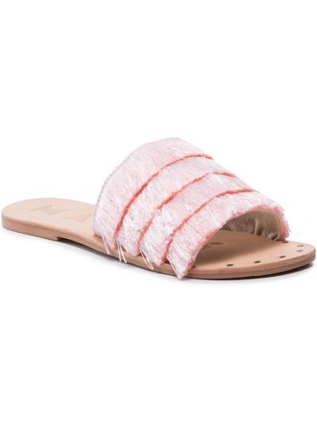 Różowe sandały casual Manebi