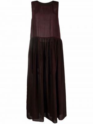 Красное платье с карманами Uma Wang