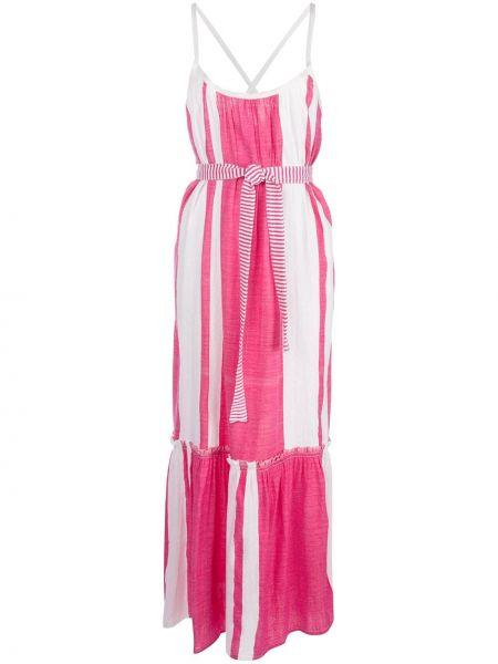 Пляжное платье - розовое Lemlem
