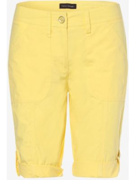Bermudy żółty Franco Callegari