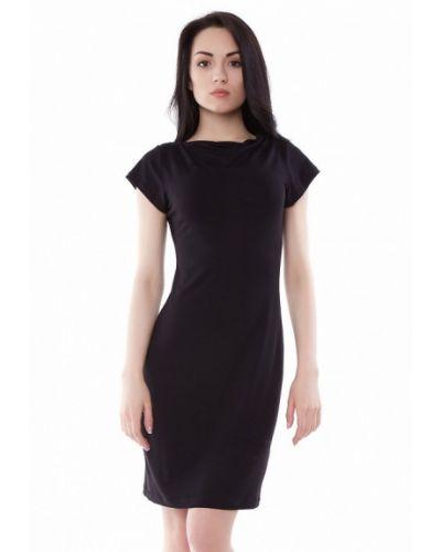 Черное платье мини Vergans
