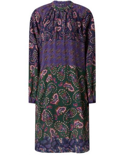 Różowa sukienka z wiskozy Risy & Jerfs