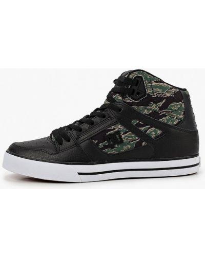 Кожаные черные пинетки Dc Shoes