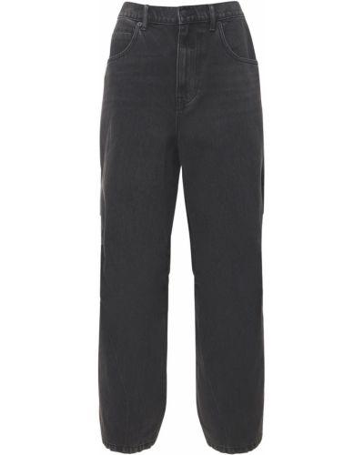 Нейлоновые джинсы на молнии Alexander Wang