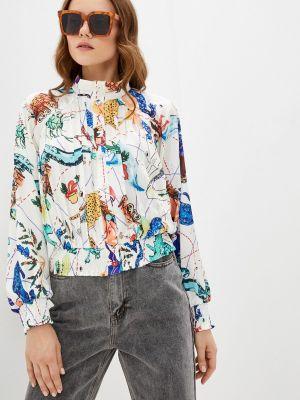 Белая блузка с длинными рукавами Zibi London