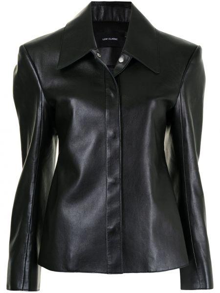 Черная куртка классическая Low Classic
