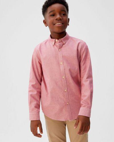 Рубашка с узором в клетку Mango Kids