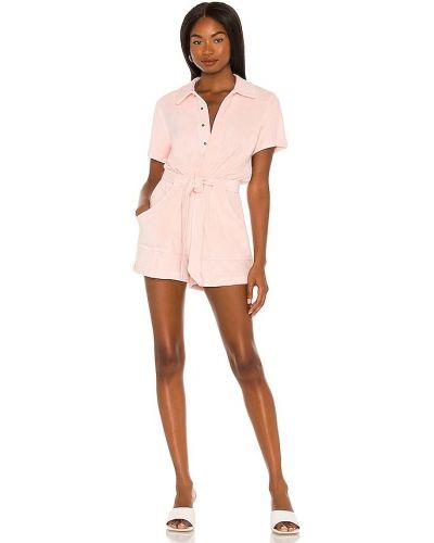 Розовый комбинезон с карманами Pam & Gela