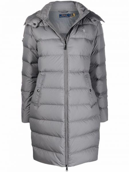 Серое пальто классическое Polo Ralph Lauren
