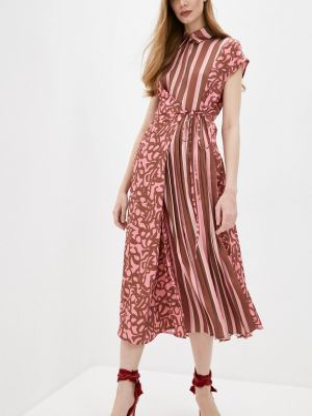 Повседневное платье розовое весеннее Beatrice.b