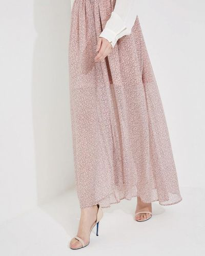 Розовая юбка весенняя French Connection